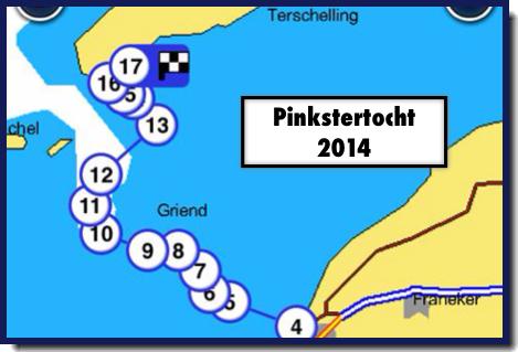 Pinkstertocht 2014